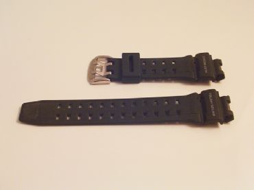 Original Casio G Shock G9200 Riseman Black Rubber Resin Watch Band Strap - S86D
